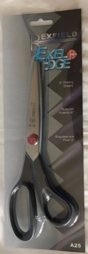 "Bexfield Exel Edge 8"" Pinking Shears - BLB602- Top Quality"